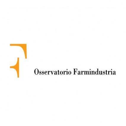 Osservatorio farmindustria