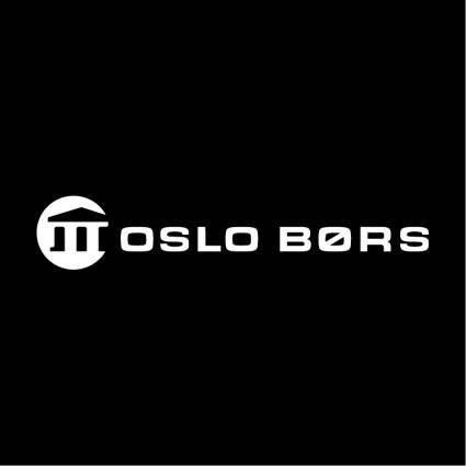 free vector Oslo bors