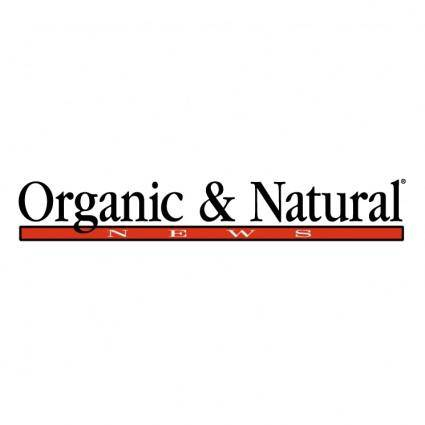 Organic natural news