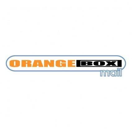 free vector Orangebox mail