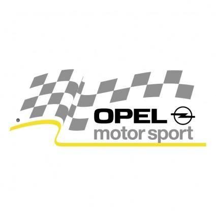 free vector Opel motorsport