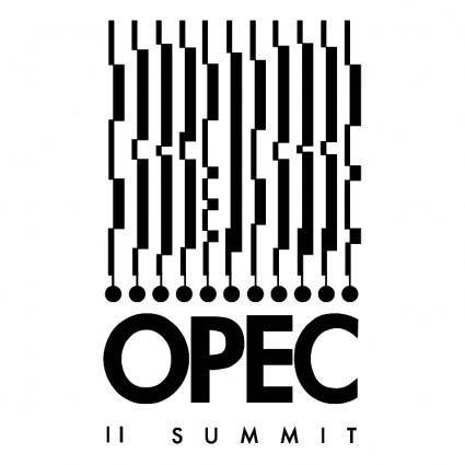 free vector Opec summit