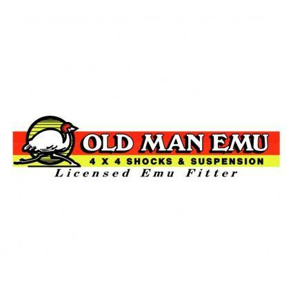 free vector Old man emu suspension