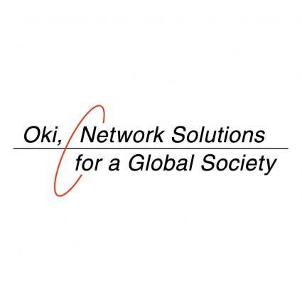 free vector Oki network solutions