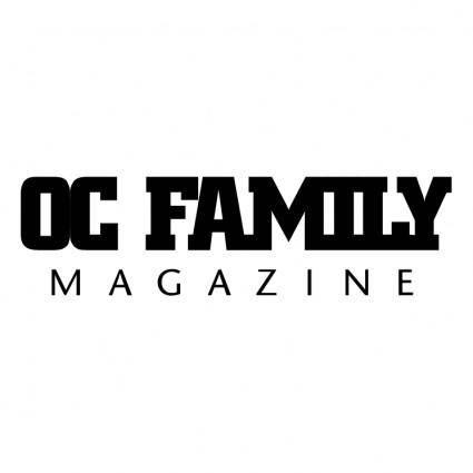 free vector Oc family