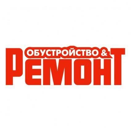 free vector Obustroystvo remont