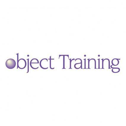 Object training