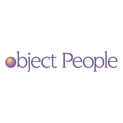 Object people