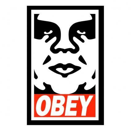 free vector Obey the giant 1