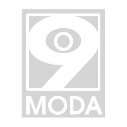 free vector O 9 moda