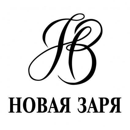free vector Novaya zarya