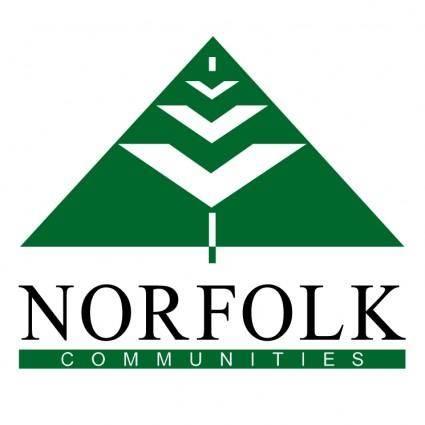 free vector Norfolk communities