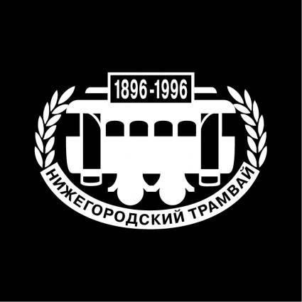 free vector Nizhegorodskij tramvaj