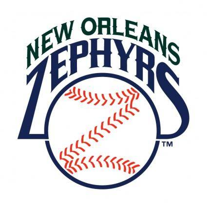 free vector New orleans zephyrs 1