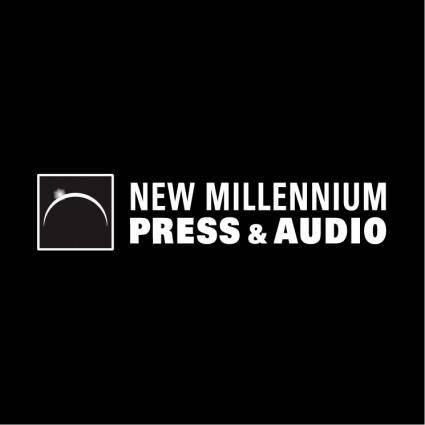 free vector New millennium press audio