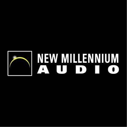 free vector New millennium audio