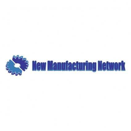 free vector New manufacturing network