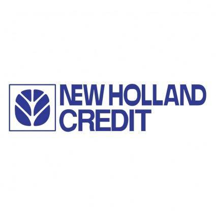 free vector New holland credit