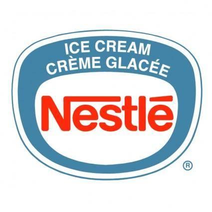 free vector Nestle ice cream