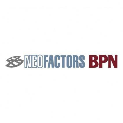 Neofactors