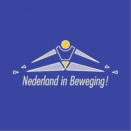 free vector Nederland in beweging