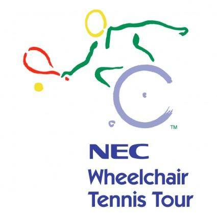 Nec wheelchair tennis tour