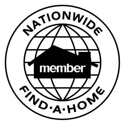 free vector Nationwide find a home