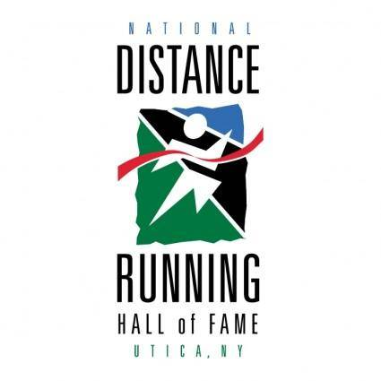 free vector National distance running hall of fame
