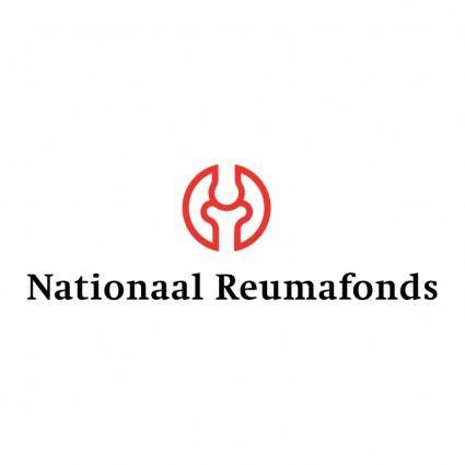 free vector Nationaal reumafonds