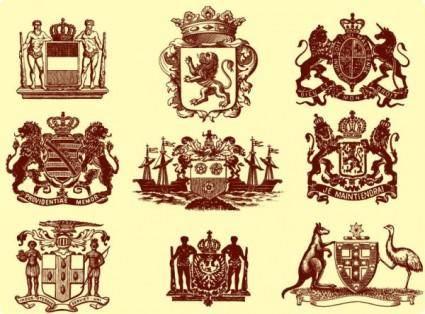 free vector European royal vector graphic