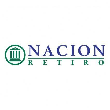 free vector Nacion retiro