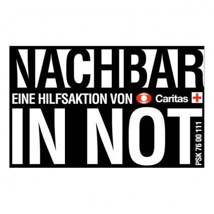 Nachbar in not