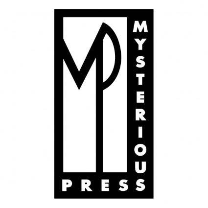 free vector Mysterious press