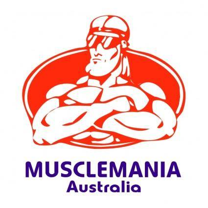free vector Musclemania australia
