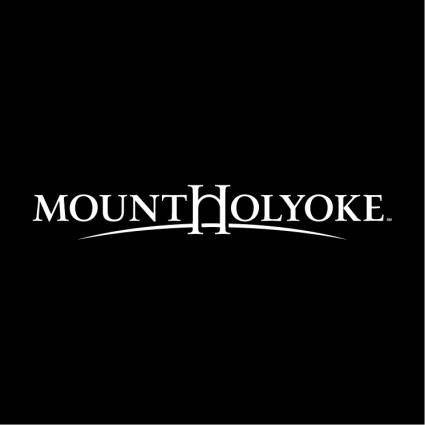 free vector Mount holyoke college