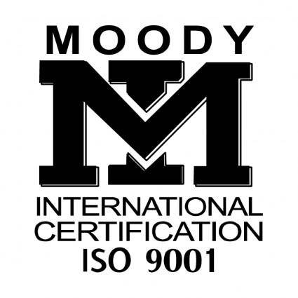 free vector Moody international certification