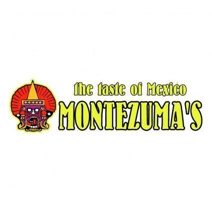 free vector Montezumas restaurant