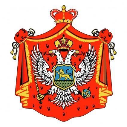 Montenegro old crest