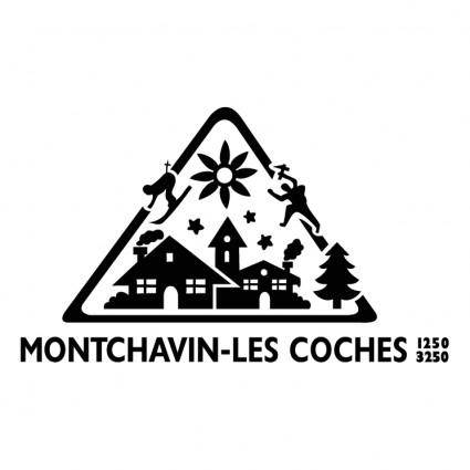 free vector Montchavin les coches
