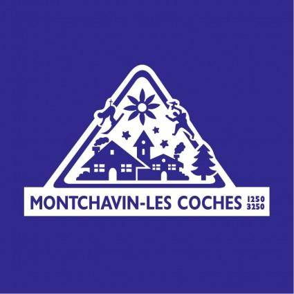 free vector Montchavin les coches 0