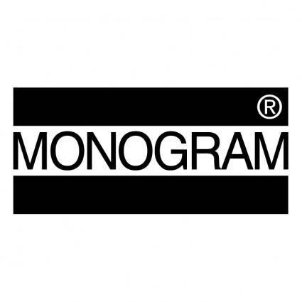 free vector Monogram
