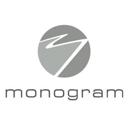 free vector Monogram 0