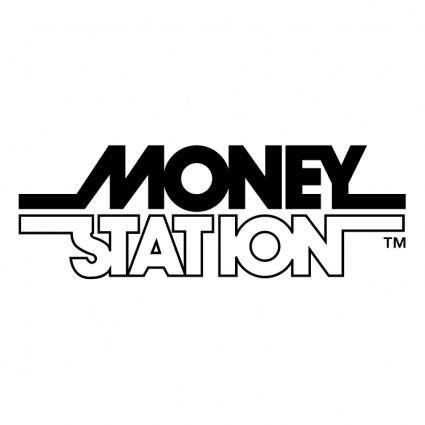 free vector Money station