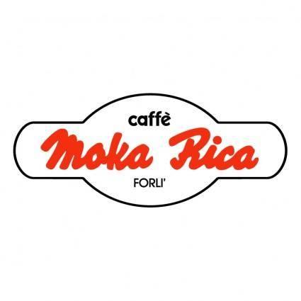 free vector Moka rica caffe