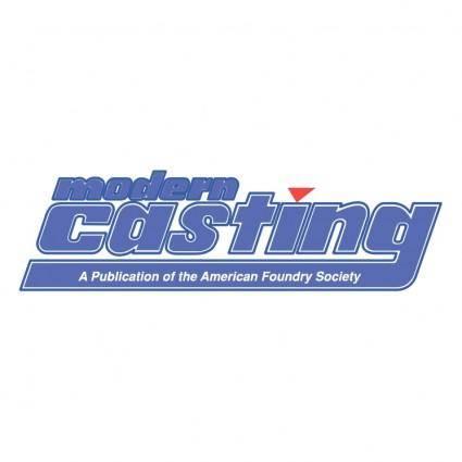 free vector Modern casting