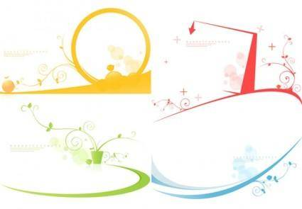 free vector Simple graphics vector 19