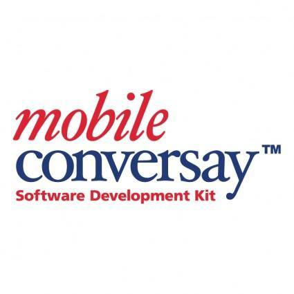 free vector Mobile conversay