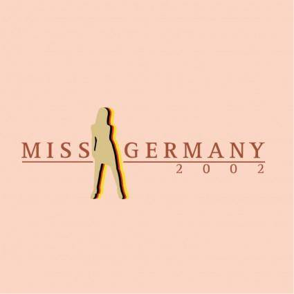 free vector Miss germany