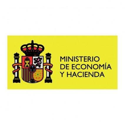 free vector Ministerio de economia y hacienda