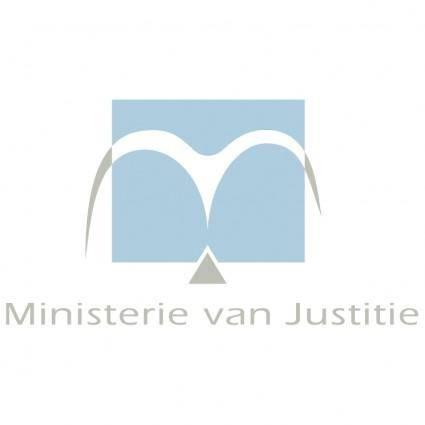free vector Ministerie van justitie 0